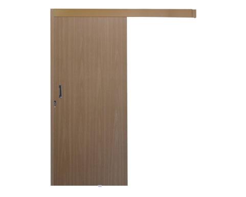 Kit porta de correr de madeira